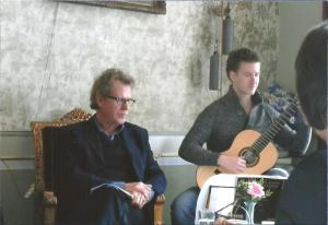 Hans Muiderman en Robin Ros groot