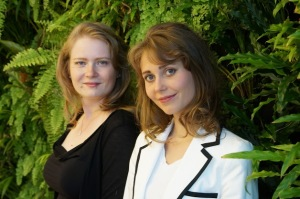 Eva Szalai en Alexandra Mashina